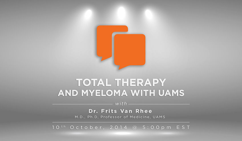 Total Therapy and Myeloma with UAMS