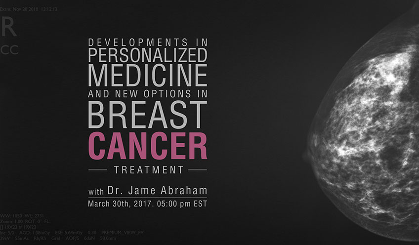 Developments in Personalized Medicine and New Options in Breast Cancer Treatment