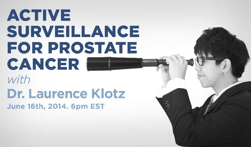 Active Surveillance in Prostate Cancer