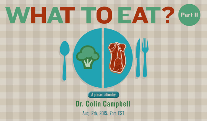What to Eat? with Dr. Colin Campbell : Nutrition, Cancer, and The China Study