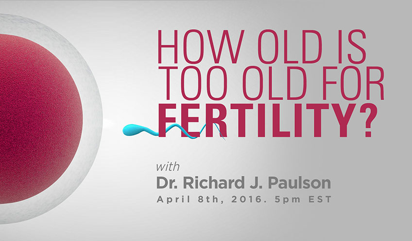 """How Old is """"Too Old"""" for Fertility?"""