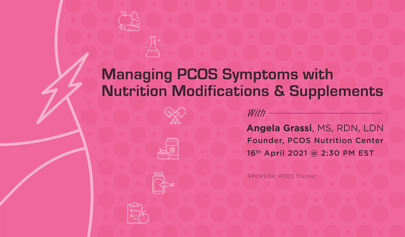 Managing PCOS Symptoms with Nutrition Modifications & Supplements