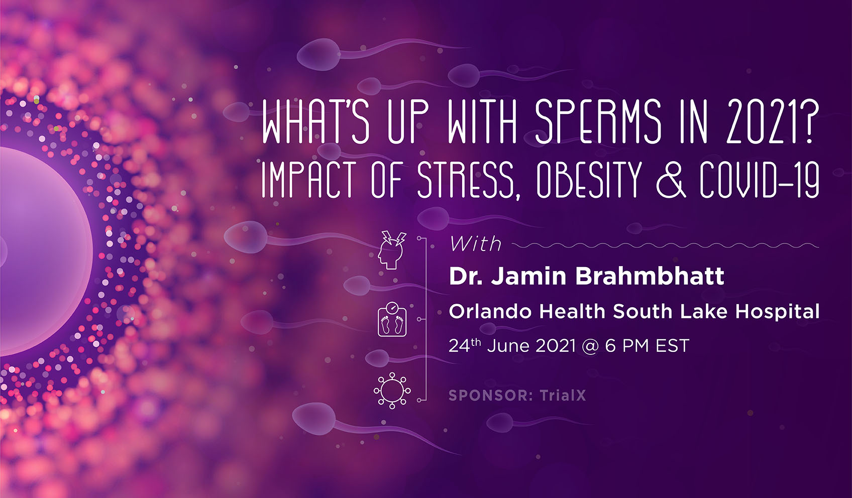 What's up with sperms in 2021? Impact of Stress, Obesity & COVID-19